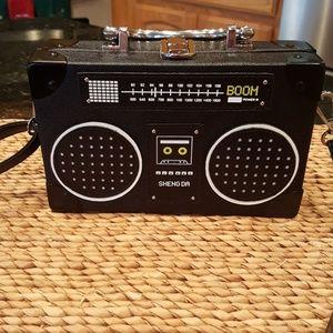 Handbags - Retro Boombox Radio Crossbody